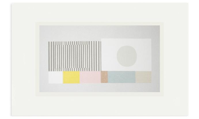Dry Stone, 68 x 45cm, edition 15, Screenprint on Fabriano, 2016