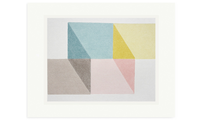 Empty, 40 x 50cm, screenprint on Fabriano 2019 available.