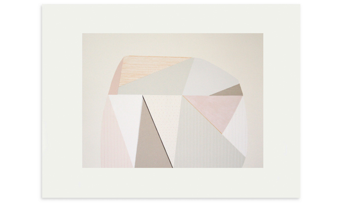 Meal Hill, 76 x 56cm, edition 30, screenprint and pencil on Fabriano Rosapina, 2016, currently available to purchase on Etsy.