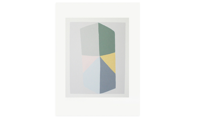Study in Eight II, 47 x 35cm, edition 20, screenprint on Fabriano Rosapina, 2013, currently available to purchase on Etsy.