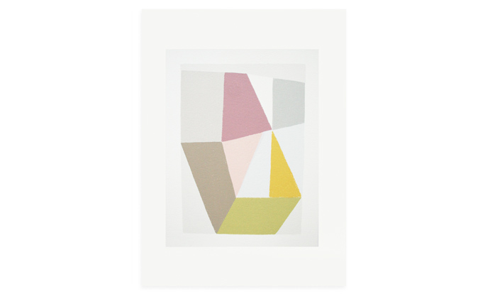 Study in Ten II, 47 x 35cm, edition 20, screenprint on Fabriano Rosapina, 2013, currently available to purchase on Etsy.