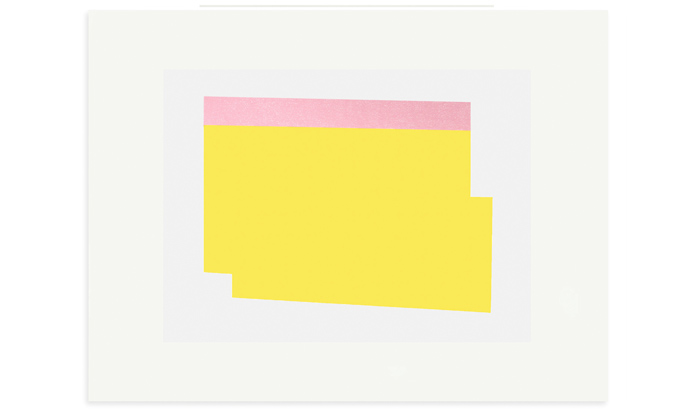 Sunlight 76 x 56cm screenprint on Fabriano